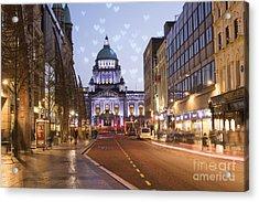 Belfast Acrylic Print