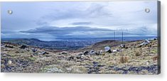 Belfast Lough From Divis Mountain Acrylic Print