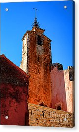 Acrylic Print featuring the photograph Belfry In Provence by Olivier Le Queinec