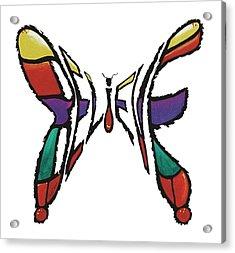 Believe-butterfly Acrylic Print