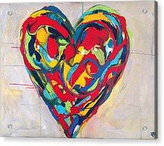 Believe Acrylic Print by Crystal Fischetti