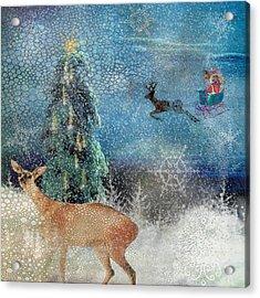 Believe Acrylic Print by Diana Boyd