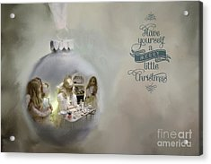 Believe In The Magic Of Christmas Acrylic Print
