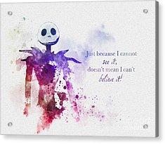 Believe Acrylic Print