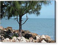 Belize Ocean Front Acrylic Print