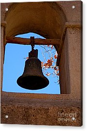 Bell Acrylic Print by Amy Strong