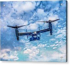 Bell Boeing V-22 Osprey  Acrylic Print by Nick Zelinsky