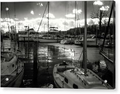 Bell Haven Docks Acrylic Print