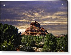 Bell Rock In Hdr Acrylic Print by Frank Feliciano