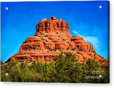 Bell Rock Tower Acrylic Print