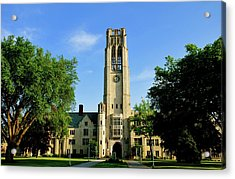 Bell Tower At The University Of Toledo Acrylic Print