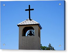 Bell Tower Acrylic Print by Jon Rossiter