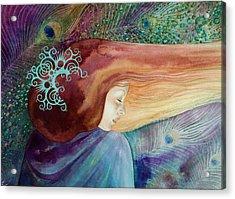 Bella Aurora Acrylic Print by Ragen Mendenhall