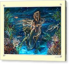 Bella Donna Tryptic Acrylic Print