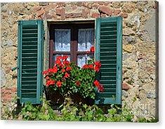 Bella Italian Window  Acrylic Print