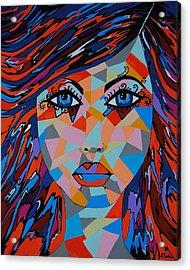 Acrylic Print featuring the painting Bella by Kathleen Sartoris