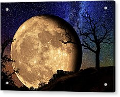 Bella Luna From Another World Acrylic Print