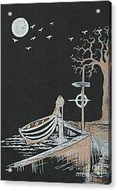 Bella Lunar Point Acrylic Print