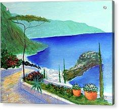 Bella Monaco  Acrylic Print by Larry Cirigliano