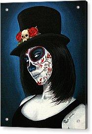 Bella Muerte Acrylic Print by Al  Molina