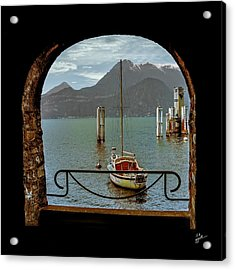 Bella Varenna - For Print Or Wrapped Canvas Acrylic Print