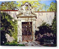 Bellagio Gate Acrylic Print