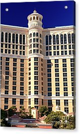 Bellagio Las Vegas Acrylic Print by John Rizzuto