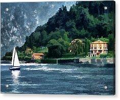 Bellagio Villa Acrylic Print