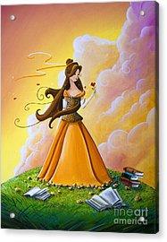 Belle Acrylic Print by Cindy Thornton