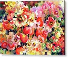 Belle Fleurs II Acrylic Print