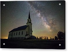 Acrylic Print featuring the photograph Belleview by Aaron J Groen