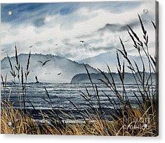 Bellingham Bay Acrylic Print by James Williamson