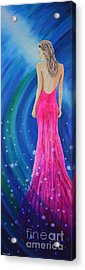 Acrylic Print featuring the painting Bellissimo by Mary Scott