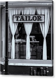 Bellows Falls Tailor Acrylic Print by Tom Singleton