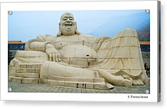 Acrylic Print featuring the photograph Belly Laugh by R Thomas Berner