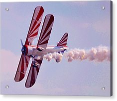 Belly Of A Biplane Acrylic Print