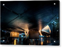 Belly Of The Shuttle Acrylic Print