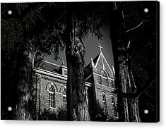 Acrylic Print featuring the photograph Belmont Abbey by Jessica Brawley