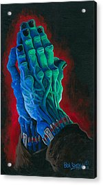 Belong Dead Acrylic Print by Ben Von Strawn