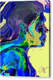 Belong Acrylic Print by Noredin Morgan