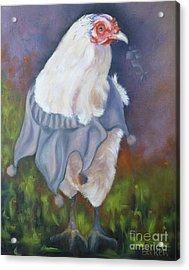 Beloved Chicken Acrylic Print