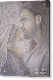 Beloved Disciple Acrylic Print by Oscar Arauz