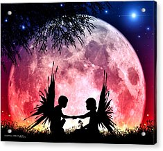 Beloved Acrylic Print by Dreamlight  Creations