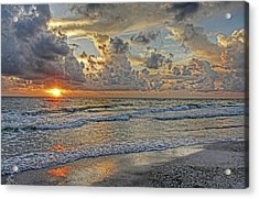 Beloved - Florida Sunset Acrylic Print by HH Photography of Florida