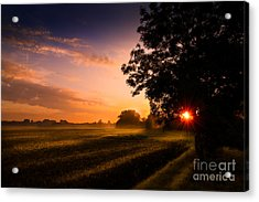 Acrylic Print featuring the photograph Beloved Land by Franziskus Pfleghart