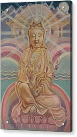 Beloved Quan Yin Acrylic Print
