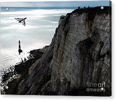 Below Beachy Head Acrylic Print by J Biggadike