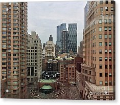 Belvedere Hotel New York City  Room With A View Acrylic Print