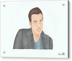 Ben Affleck Acrylic Print