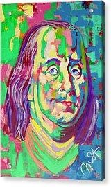 Ben Franklin Acrylic Print